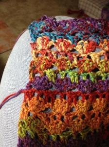 Satoe shawl